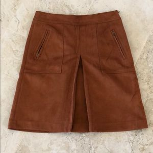 """Suede """"like"""" A line skirt from the loft"""